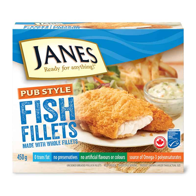 Pub Style Fish Fillets