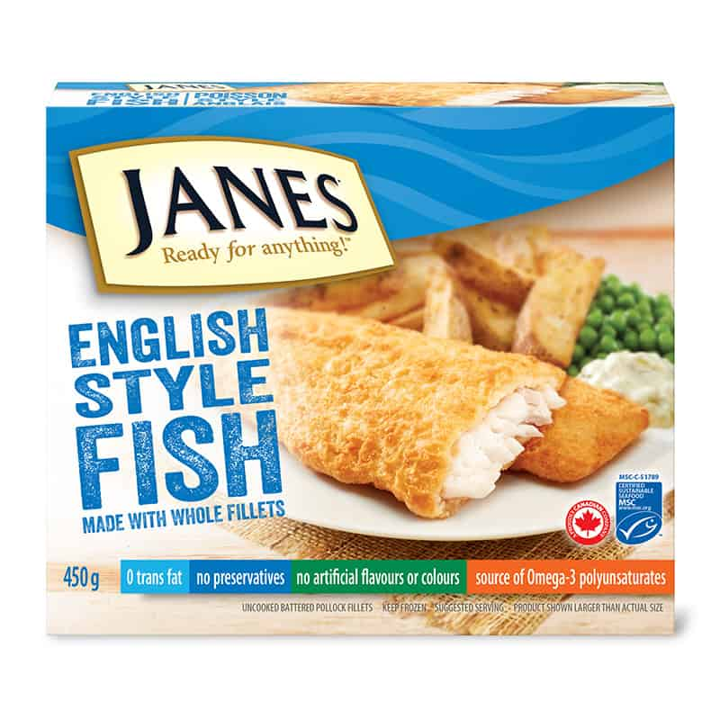 English Style Fish Fillets