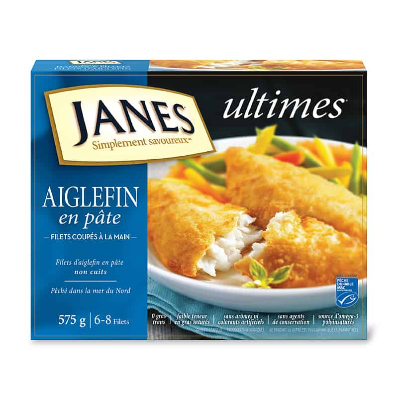 Filets d&rsquo;aiglefin panés <span>ultimes</span>