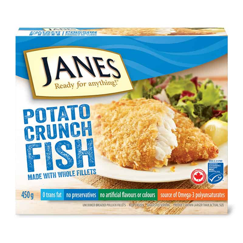 Potato Crunch Fish Fillets