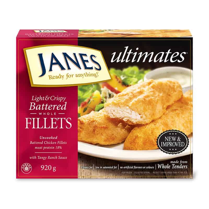 <span>ultimates</span> Battered Chicken Fillets