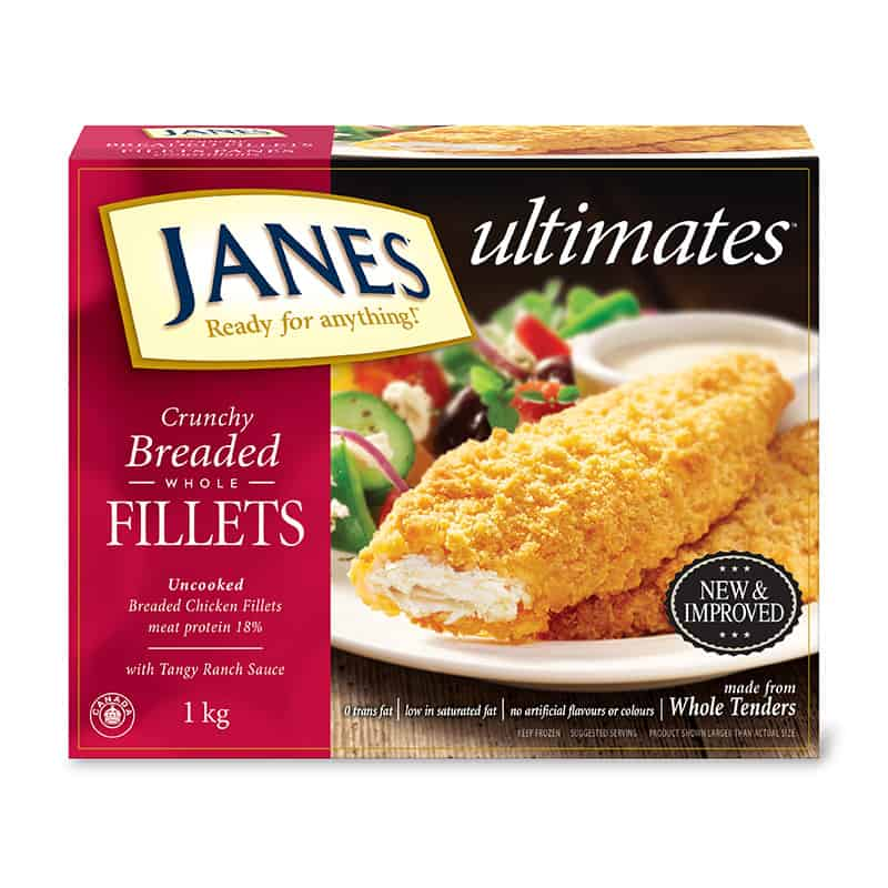 <span>ultimates</span> Breaded Chicken Fillets