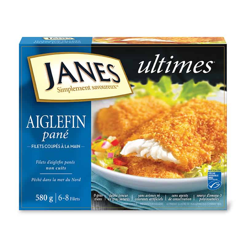 Filets d'aiglefin panés <span>ultimes</span>