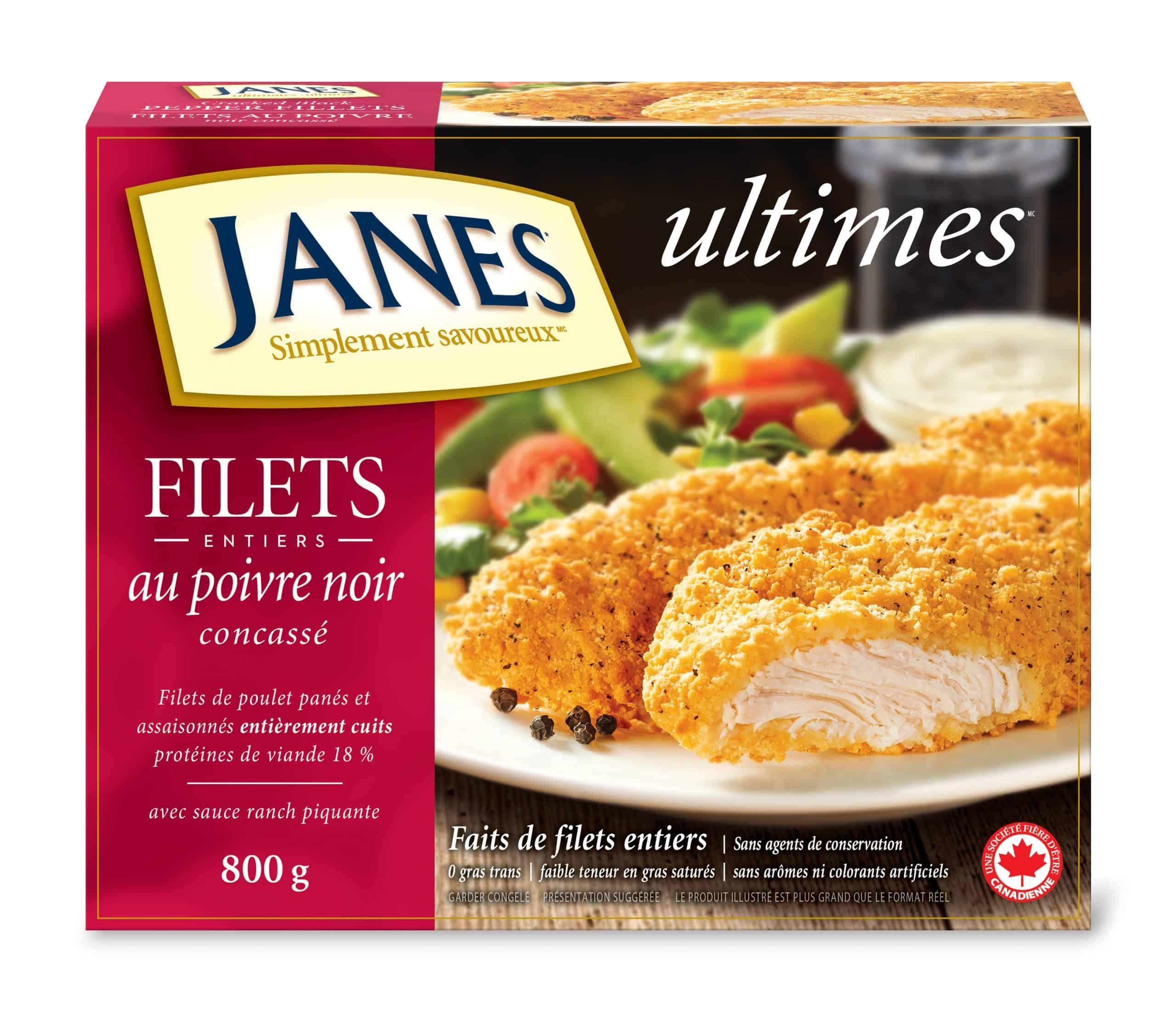 Filets de poulet panés <span>ultimes</span> au poivre noir concassé