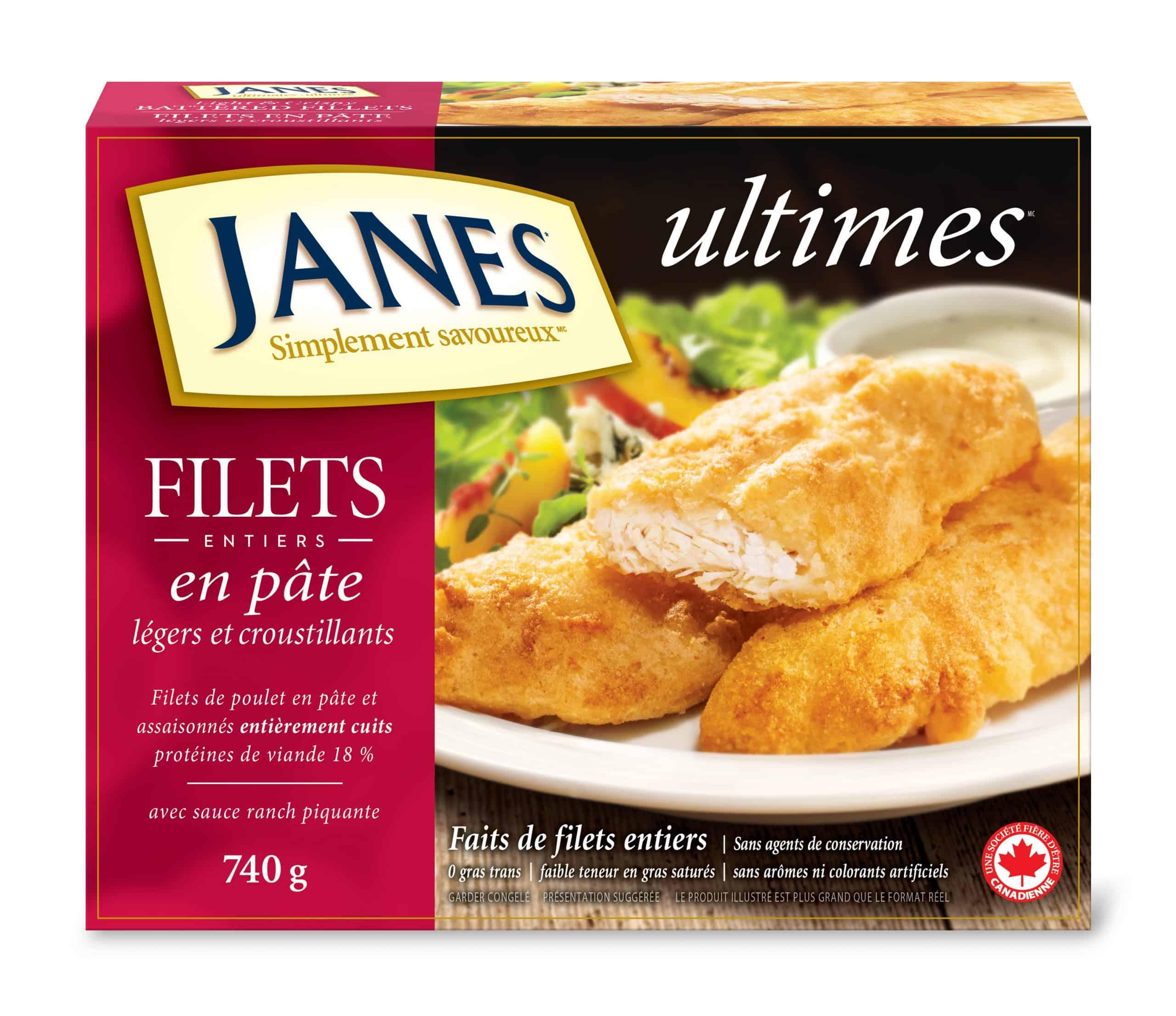 Filets de poulet<span>ultimes</span>en pâte à frire