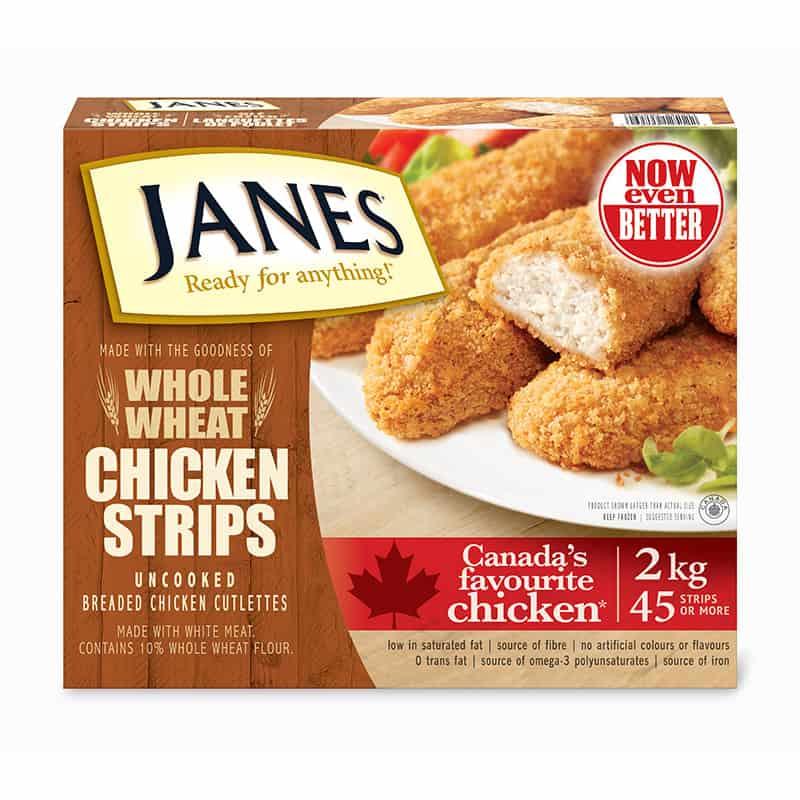 Whole Wheat Chicken Strips