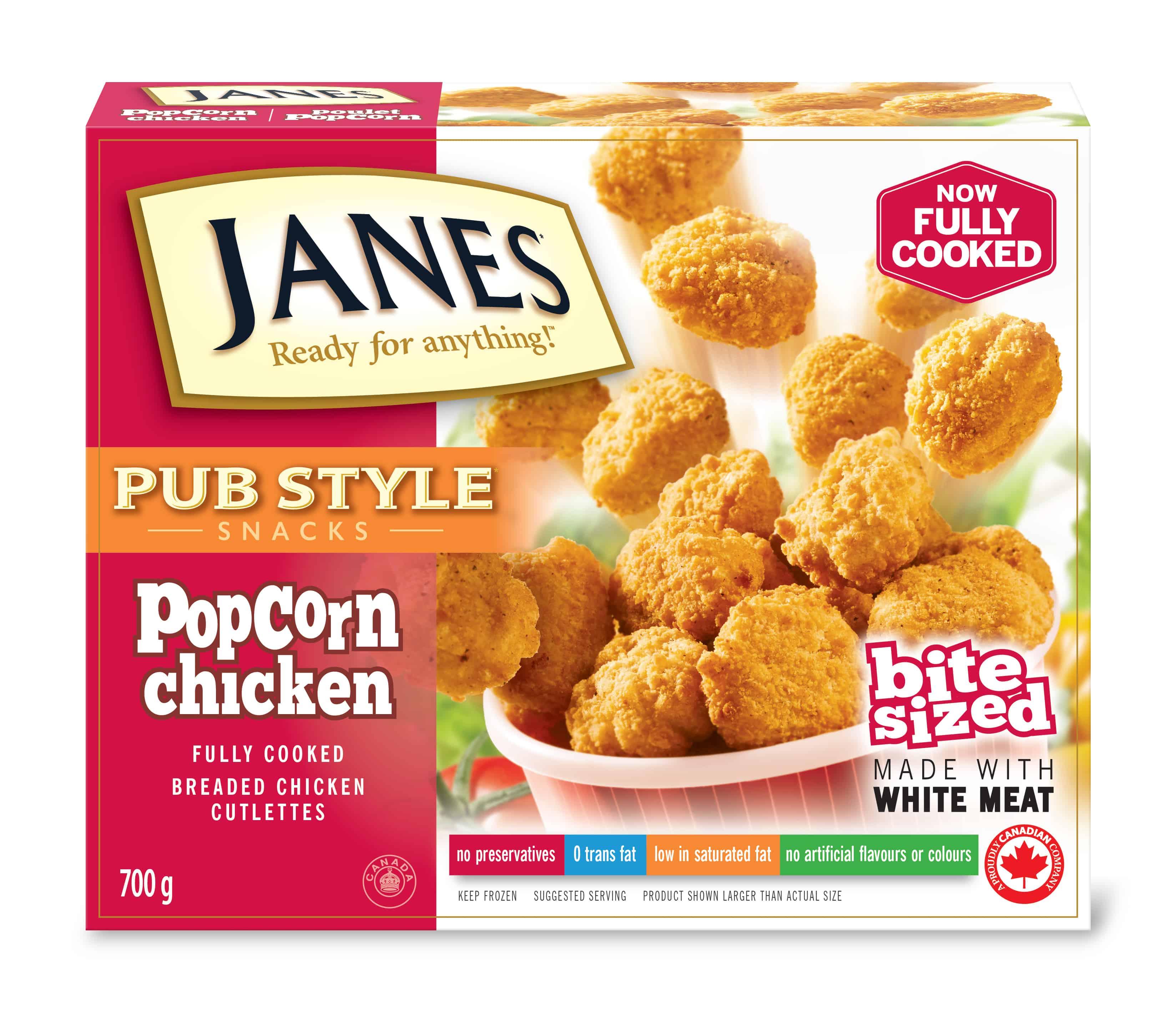 Pub Style Popcorn Chicken