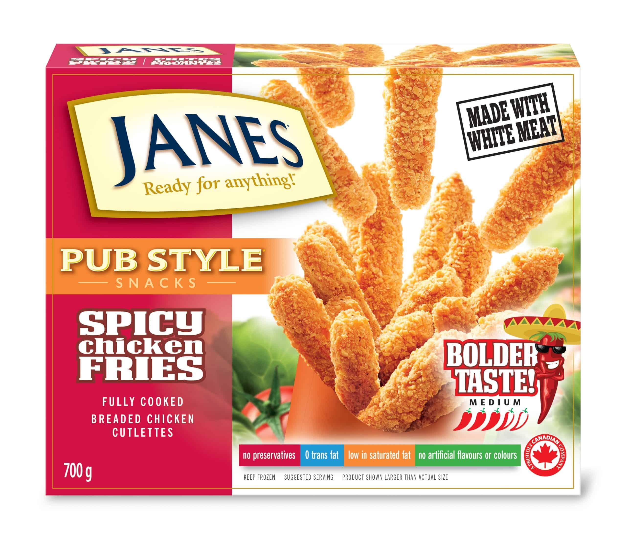 Pub Style Chicken Spicy Fries