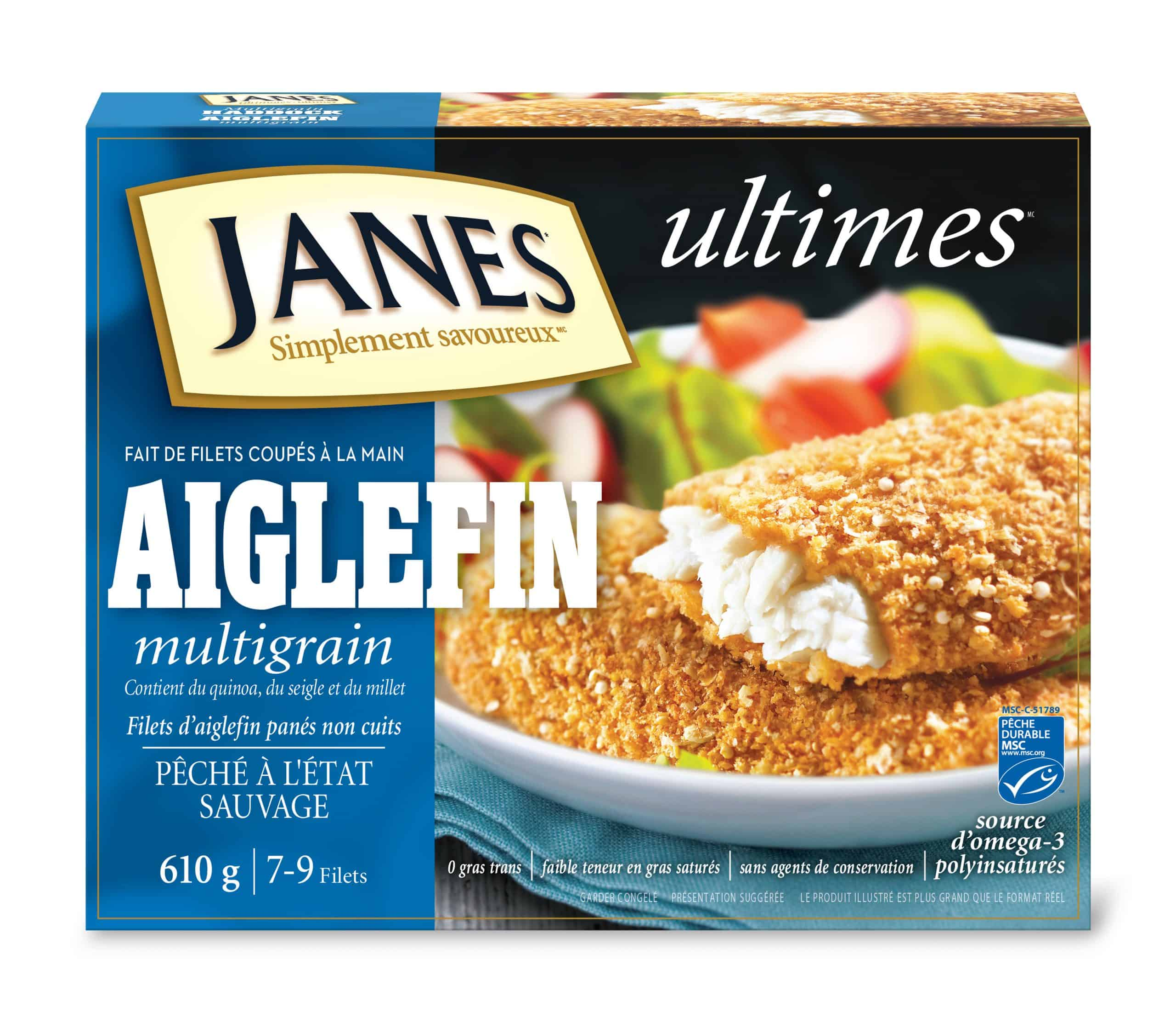 Filets d'aiglefin panés multigrains<span> ultimes </span>