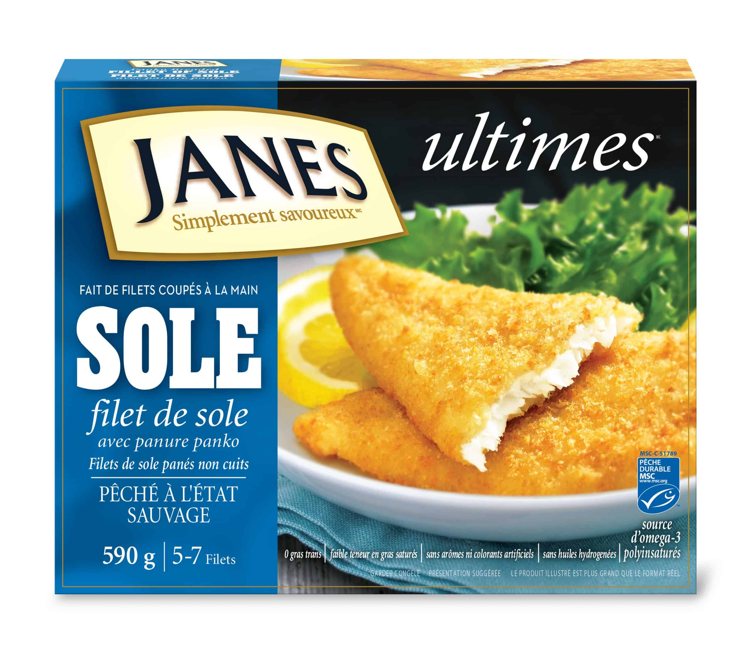 Filets de sole panés <span> ultimes </span>