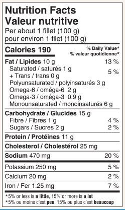 Valeur nutritionnelle