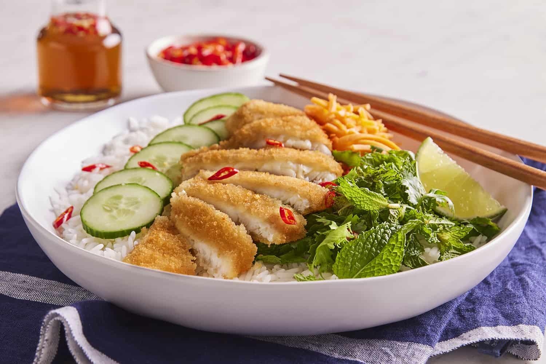 Vietnamese Panko Sole Bowl