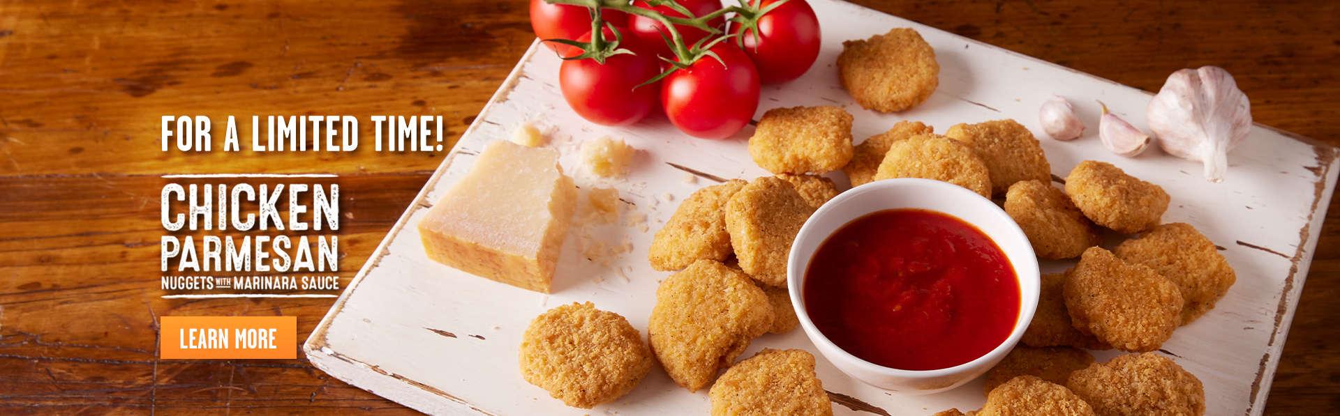 Chicken Parmesan Nuggets